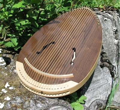 Walnut Reverie Harp